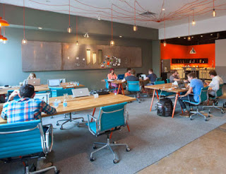 office-space Examples of Cool & Funky Co-working Space Design that Really Work Future of Work
