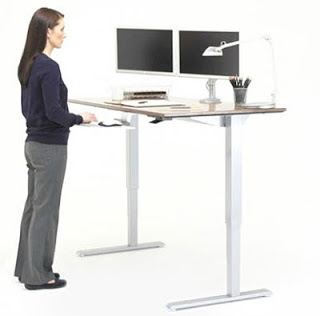 height-adjustable-height-desk RSI Prevention Tips: Prevent RSI and Other Computer Related Injuries Future of Work