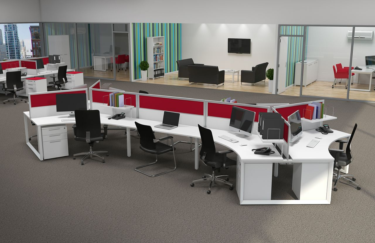 Workstation Design: 5 Inspiring Office Workstation Layout Examples |  Supreme Office Furniture System