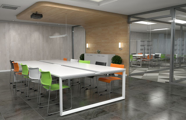 Boardroomtable_Layout Breakout Area Furniture Design & Tips Future of Work
