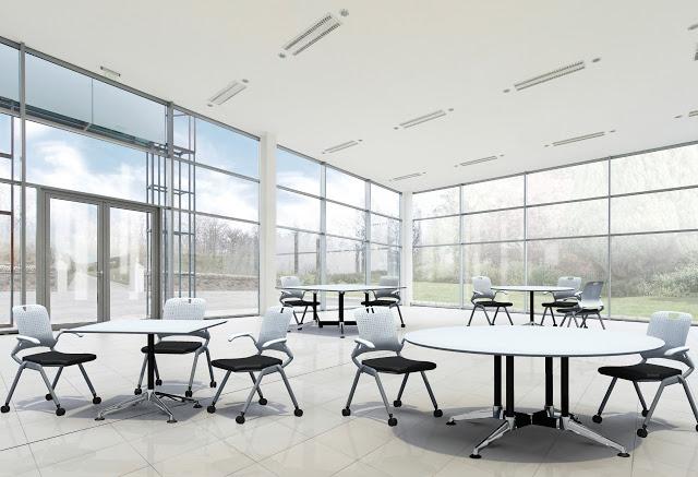 break-room Breakout Area Furniture Design & Tips Future of Work