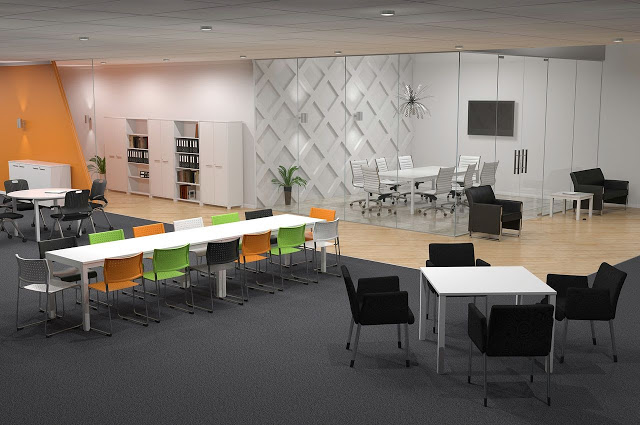 Office-Workstation-Design-Layout-8 Office Space Planning Guide Design Design Ideas Future of Work Inspiration