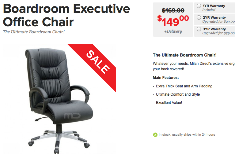 Boardroom-Executive-Office-Chair-Avoid-54 Chairs to AVOID: Review of IKEA, Officeworks Boardroom Executive Office Chairs Reviews Seating