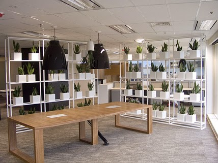 green-office-design-5 5 Big Trends in Modern Office Design Design Design Ideas Future of Work Inspiration