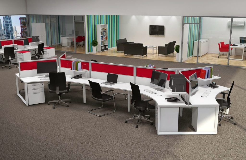 open-office-environment-6-1024x664 5 Big Trends in Modern Office Design Design Design Ideas Future of Work Inspiration