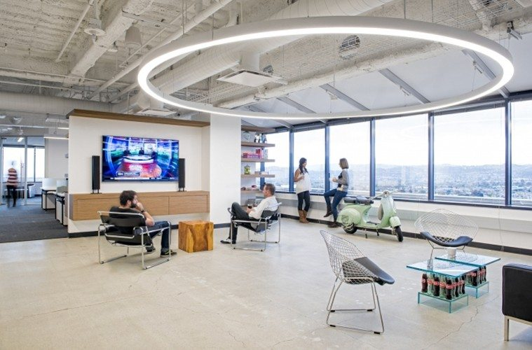 Amobee-Office 10 Offices that Perfectly Reflect Their Brand Inspiration