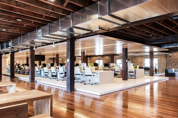 Ansarada-Desking-600x400 Ansarada Office Design by Those Architects and End of Work Design Ideas Inspiration Offices We Love
