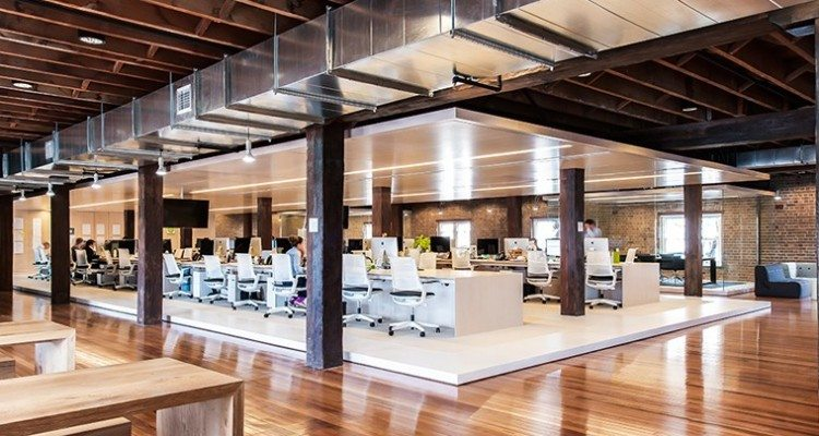 Ansarada-Desking-750x400 Ansarada Office Design by Those Architects and End of Work Design Ideas Inspiration Offices We Love