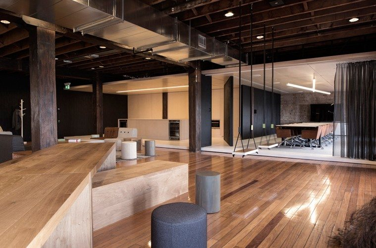 Ansarada-Foyer Ansarada Office Design by Those Architects and End of Work Design Ideas Inspiration Offices We Love