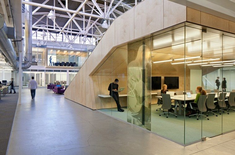Atlassian-private-room-under-stairs Atlassian Office by Studio Sarah Willmer Architecture Inspiration Offices We Love