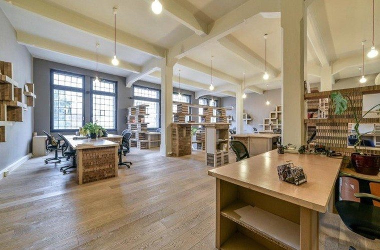 Coworking-at-paper-Hub-office The Best Co-Working Offices in the World Inspiration