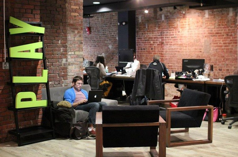 Coworking-lounge-at-canvas The Best Co-Working Offices in the World Inspiration