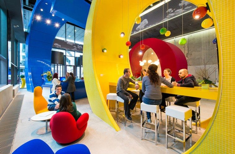 Google-ABW Increase Productivity with Smart Office Design Company Culture Design Design Ideas Future of Work Inspiration Leadership