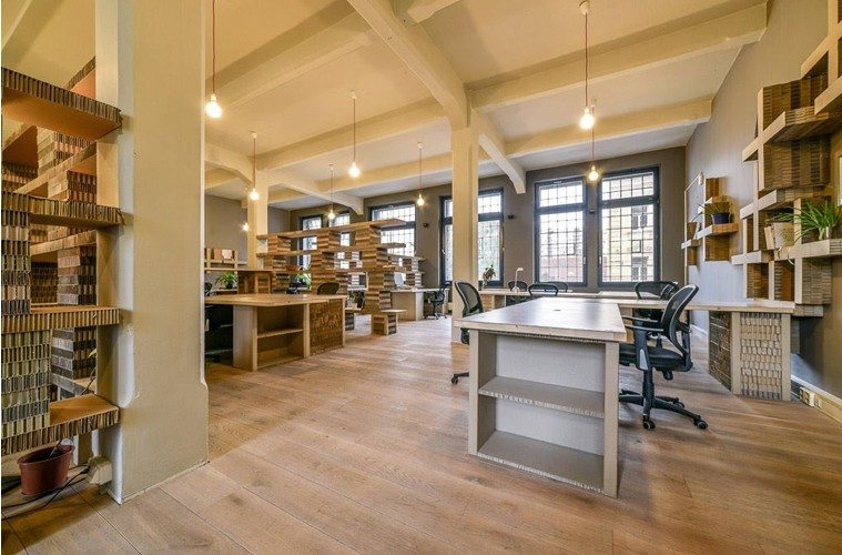 Paper-Hub-Coworking The Best Co-Working Offices in the World Inspiration