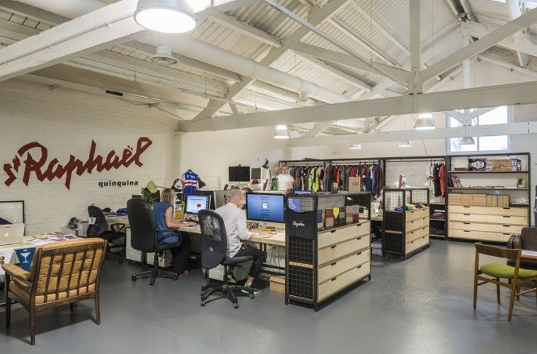 Rapha-Office 10 Offices that Perfectly Reflect Their Brand Inspiration