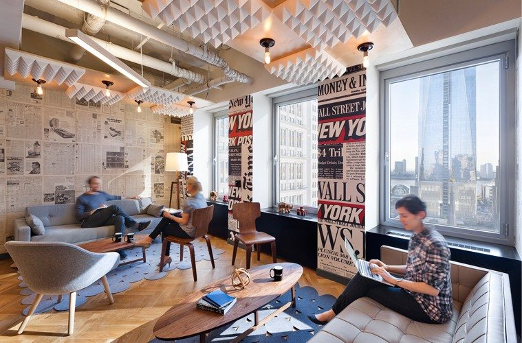 Wework-New-york-Coworking The Best Co-Working Offices in the World Inspiration