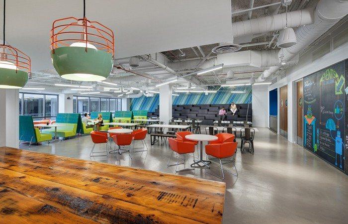 rocket-fuel-cafeteria Amazing Office Cafeterias Design Ideas Inspiration