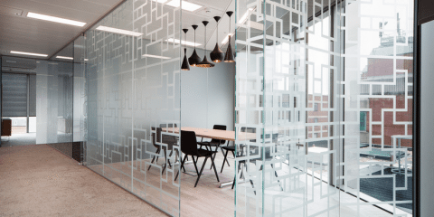 Glass-Partition-5-480x240 Want to Increase Privacy in the Office? Here's How to Get Started! Collaboration Company Culture Design Featured Future of Work Human Resource