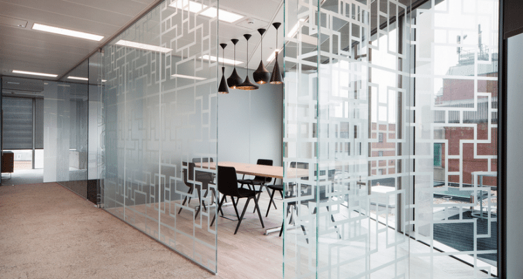 Glass-Partition-5-750x400 Bright ideas with Less Colour: 3 Incredible Monochrome Office Designs Design Ideas Inspiration