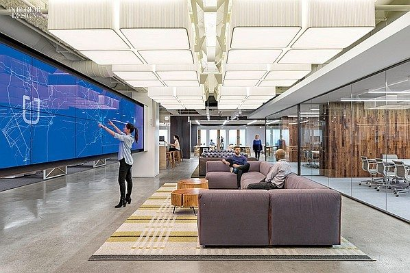 Uber 5 Amazing Offices that Will Make You Want to Work Overtime Inspiration