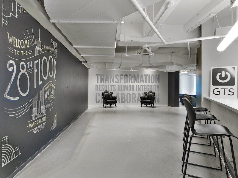 linkedin-nyc-office-design-2 9 Offices with Unforgettable Wall Art Design Design Ideas Inspiration