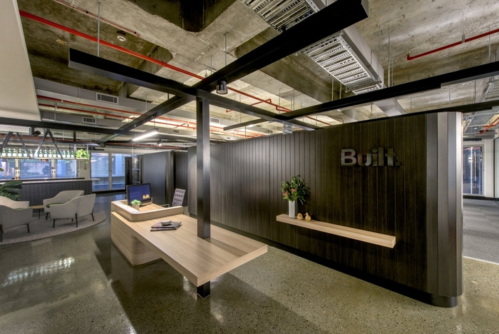 built-office-design-4-700x468 Industrial, Raw and Refined: Woods Bagot Built Offices Design Ideas Inspiration Offices We Love