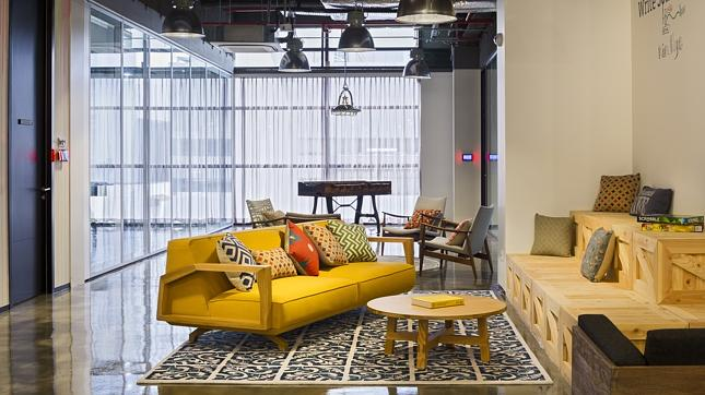 Breakout-area How to Bring Good Home Design Fundamentals into your Office Design Design Ideas Future of Work Inspiration