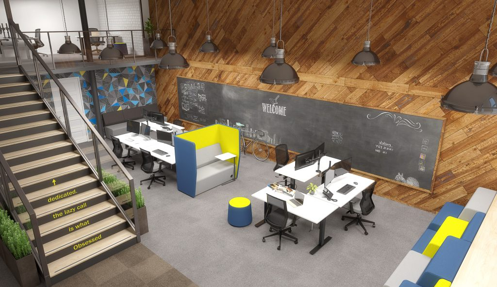 Agile-Black-Shared-Creative-Space-Winder-1024x591 Modern Office Design: The Office is Changing Company Culture Design Ideas Future of Work Inspiration Leadership