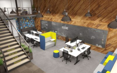 Agile-Black-Shared-Creative-Space-Winder-400x250 Modern Office Design: The Office is Changing Company Culture Design Ideas Future of Work Inspiration Leadership