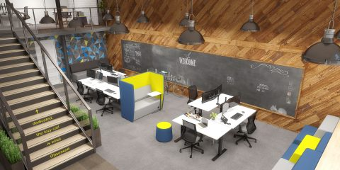 Agile-Black-Shared-Creative-Space-Winder-480x240 Do it like 'Google'- Acing Office design like the company which redefined the space. Collaboration Design Future of Work Technology Wellbeing