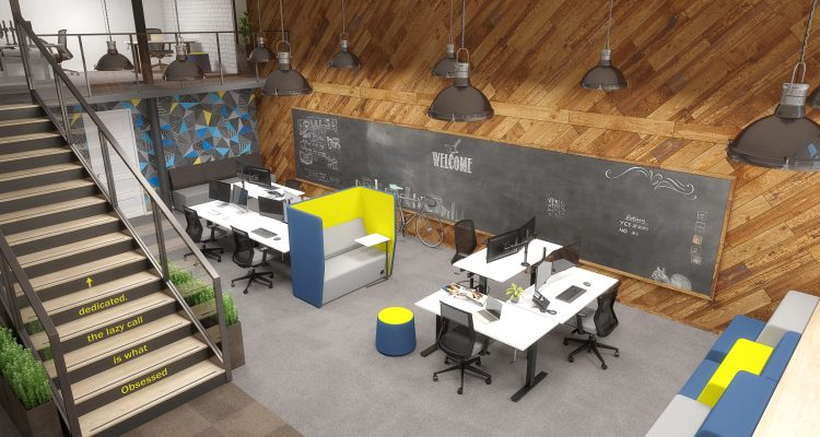 Agile-Black-Shared-Creative-Space-Winder-750x400 Modern Office Design: The Office is Changing Company Culture Design Ideas Future of Work Inspiration Leadership