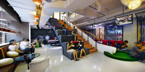 casual-interaction-480x240 Innovative Offices Make Healthier & Happier Employees Design Ideas Inspiration