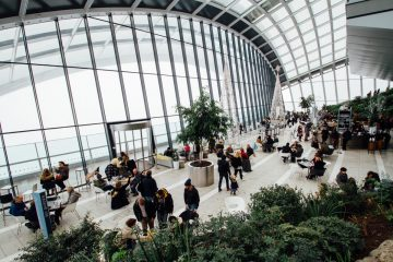 adults-airport-architectural-design-301930-1-360x240 4 Ways to scale your office, without hampering the work culture Company Culture Design Featured Future of Work Wellbeing