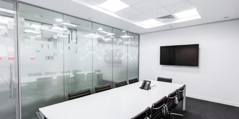 black-and-white-boardroom-ceiling-260689-480x240 White Office Furniture Designs - Create Airy, Open Workspaces Future of Work
